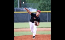 HCHS sophomore Alex Monson pitched six hitless innings on Monday as the Cyclones shut out Denison 2-0.