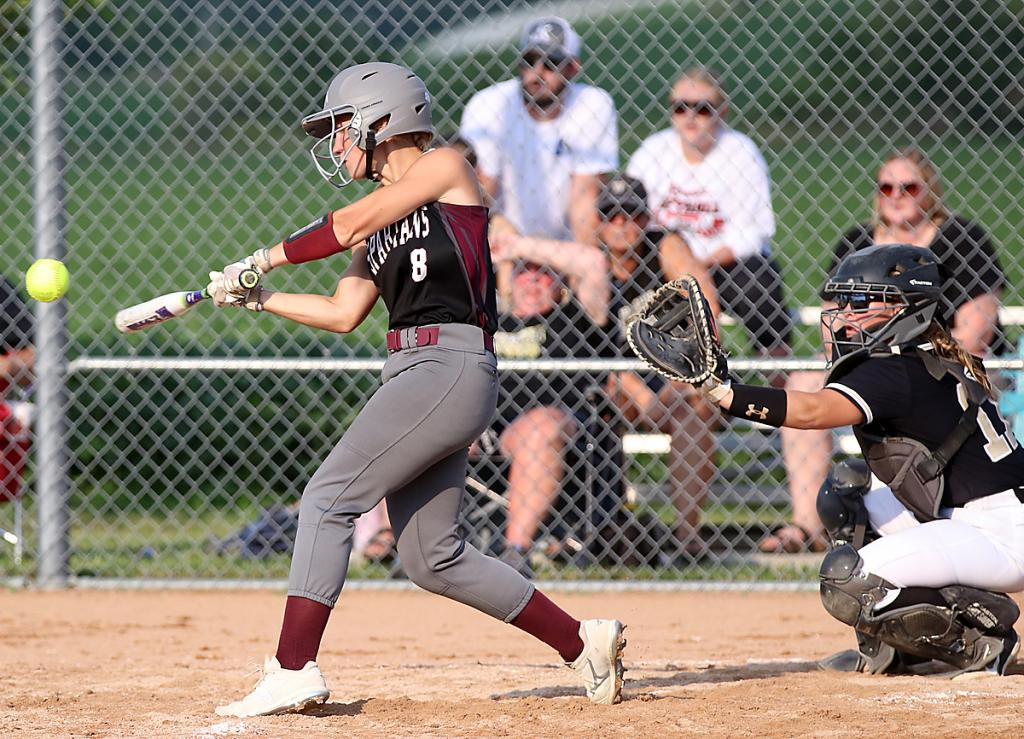 Spartan junior Alisa Partridge ignited the team's seventh-inning rally with a single to left field.