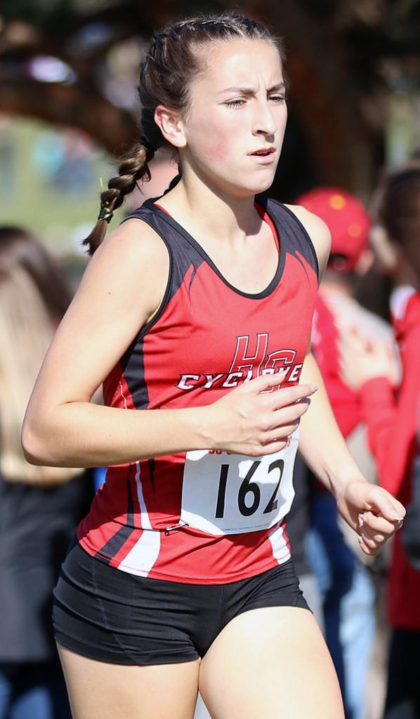 Abby Alberti, HCHS, jr. (59th place)