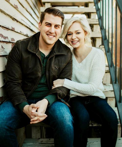 Nathan Klingenberg and Caitlin Andersen