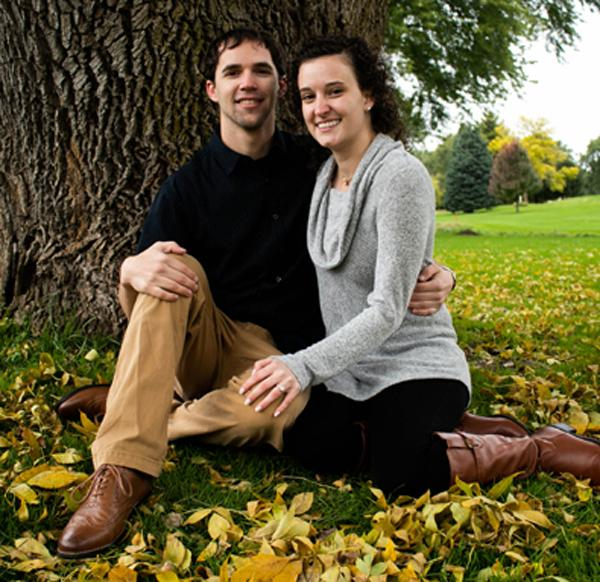 Nathan Arkfeld and Patrice Crall