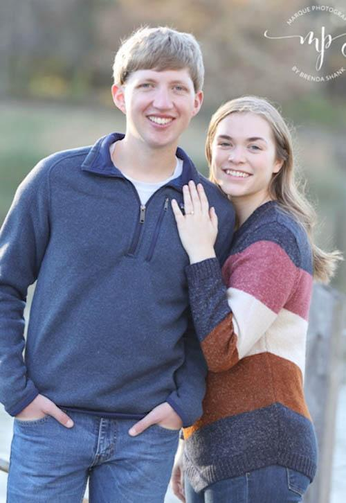Bradley Brue and Emily Murtha