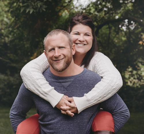 Ryan Carter and Julie Suntken