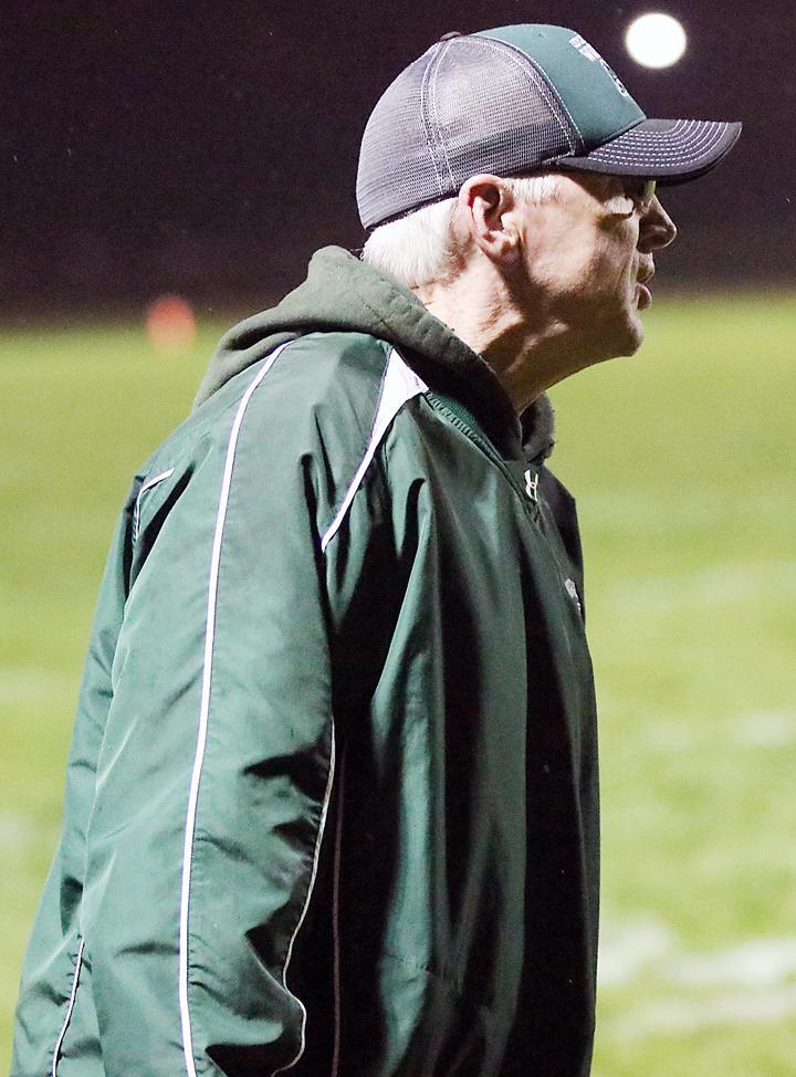 Tom Casey, IKM-Manning head football coach