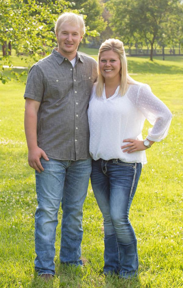 Dylan Petersen and Katie Ladehoff