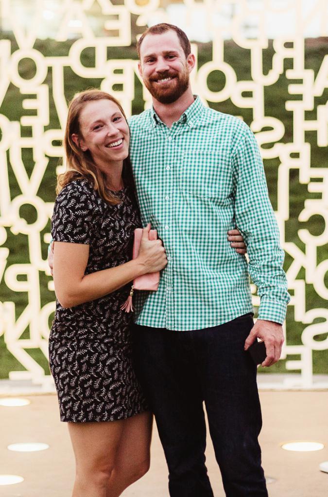 Michelle Graeve and Adam Bramley