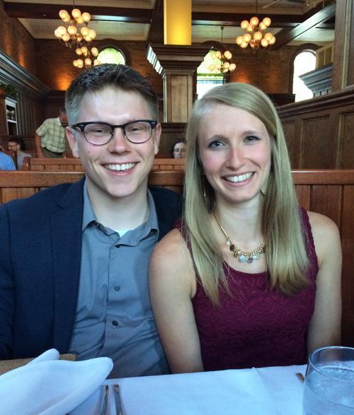 Justin Graeve and Lori Lines