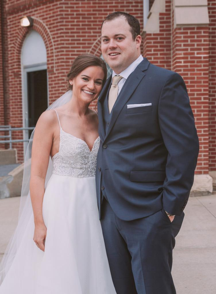 Rachel and Dustin Halstead