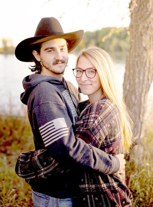 Andrew Boldt and Paige Hansen