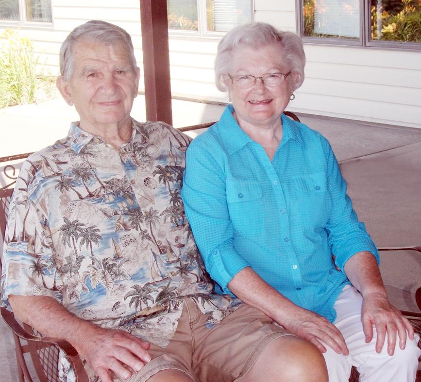 Phil and Doramae Heller celebrated 60 years of marriage in June. They have lived in Portsmouth since their marriage except for one year while Phil was stationed in the Army in Tacoma, WA.