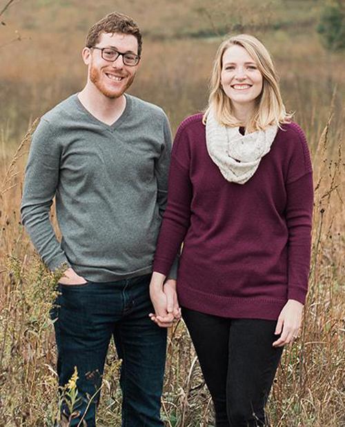 Jeremy Hoffmann and Amanda Roberts