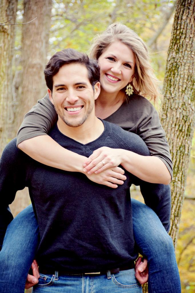 Jose Palacios and Alexa Hoffmann