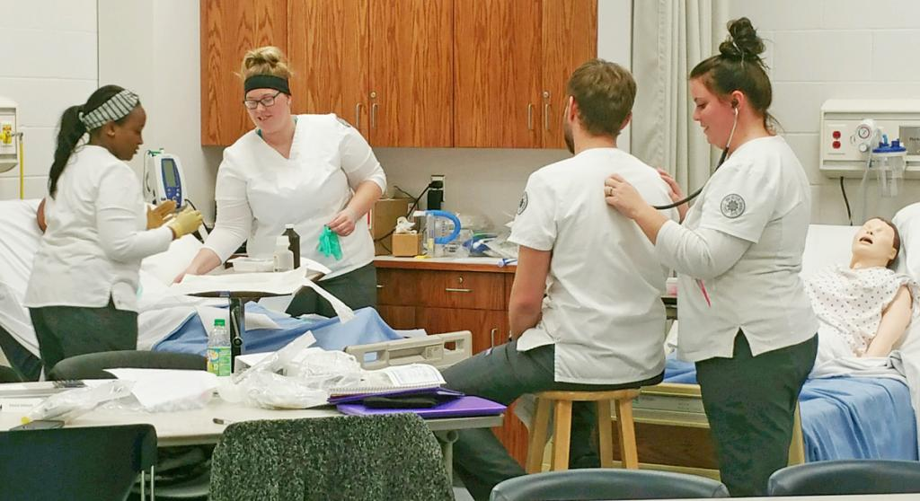 The Shelby County Center of IWCC LPN program has had 24 students this fall.  (Photo contributed)