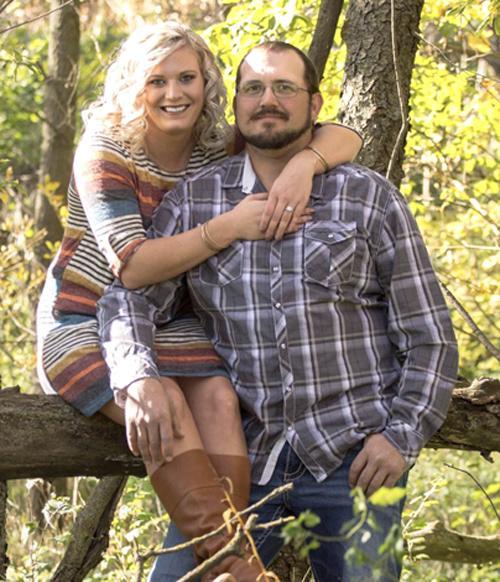 Kari Ladehoff and Jake Palmer