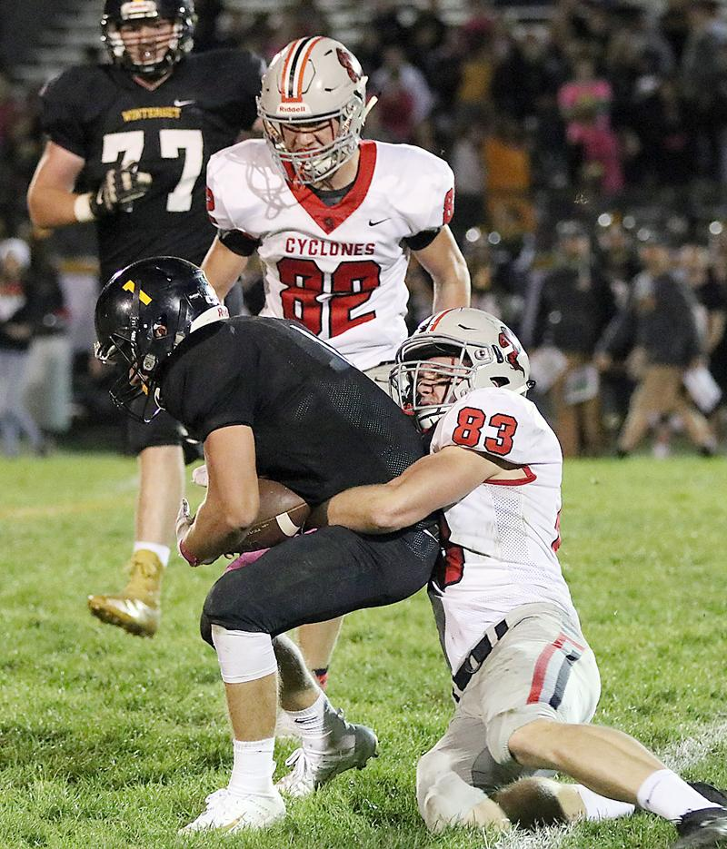 Jake McLaughlin, HCHS (83), sr. (1st Team All-State)