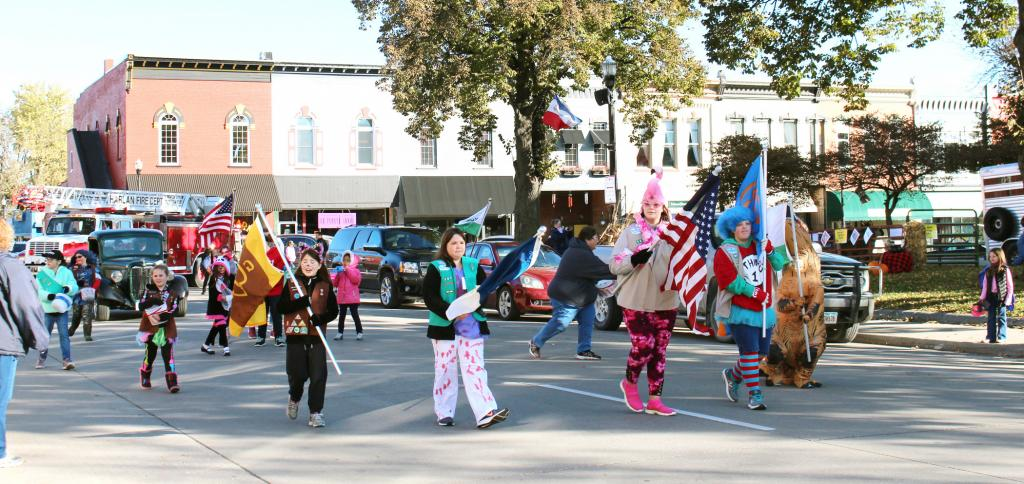 HARLAN -- The parade was a fun event dubbed a huge success, and included a parade shown above.  See more photos in this week's Harlan News-Advertiser Friday.  (Harlan Newspapers Photo)