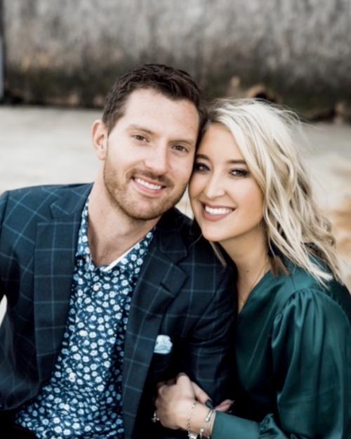 Brandon Kew and Amanda Petersen