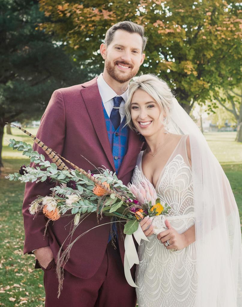 Brandon and Amanda Kew