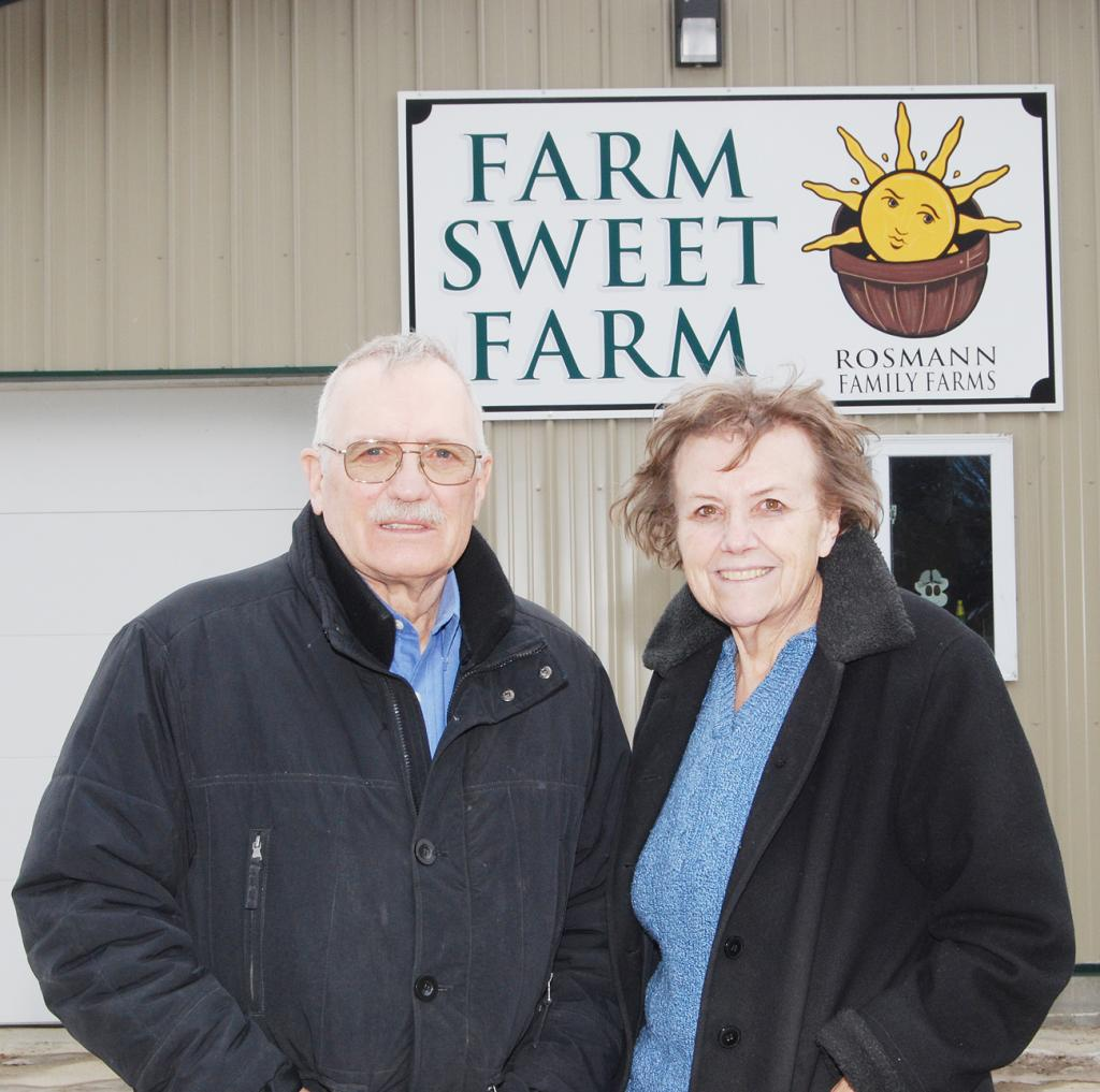 Ron and Maria Rosmann of Harlan are being honored as Iowa Master Farmers.