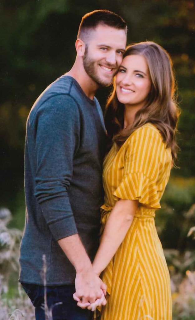 Mitchel Petersen and Kate Schomers