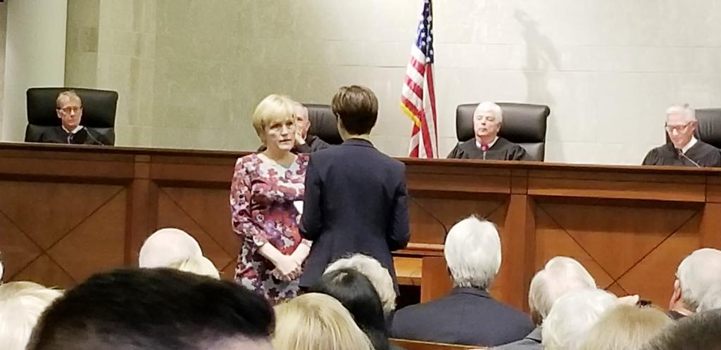 Susan Christensen was born and raised in Harlan and practiced law for 16 years before first being appointed as a district associate judge, then district court judge before being selected as the next and newest Iowa Supreme Court Justice.