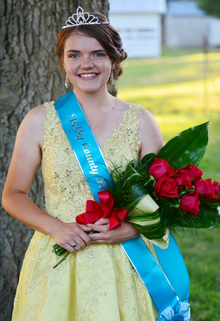 Miranda Lingle was crowned Shelby County Fair Queen during ceremonies Monday, July 13 at the fairgrounds.