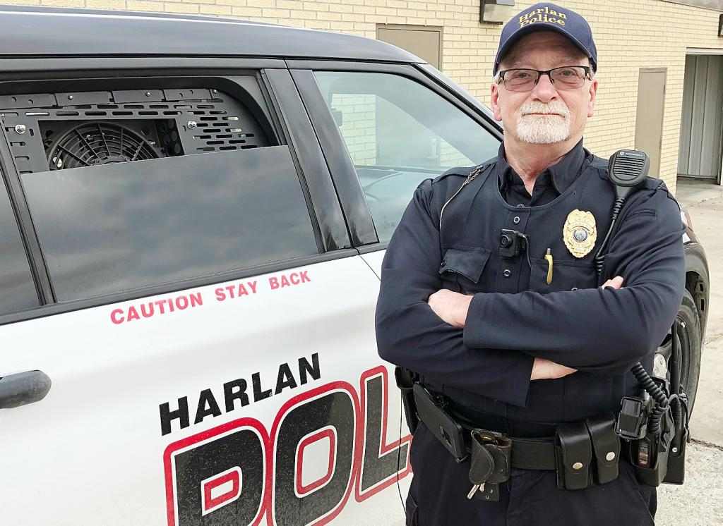 Frank Clark has retired as Harlan Chief of Police effective the end of January.  His life and career are one marked with real-life experiences, resiliency, compassion, and fortitude.