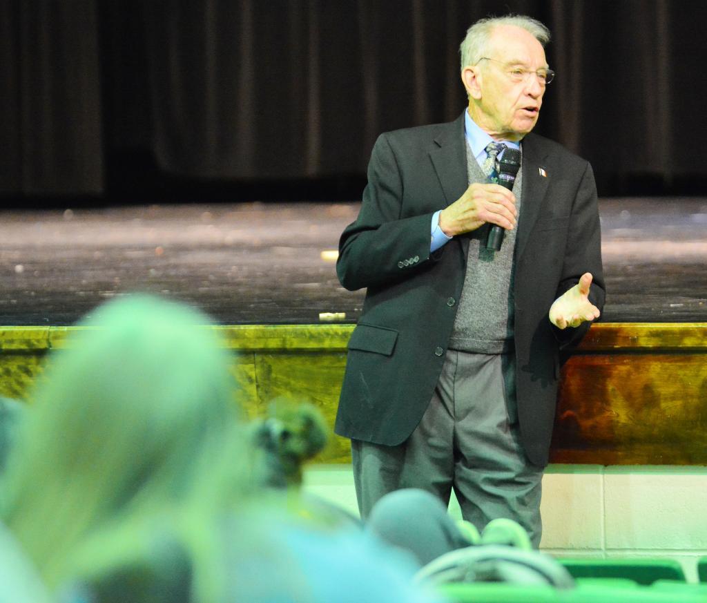 U.S. Sen. Charles Grassley (R-Iowa)