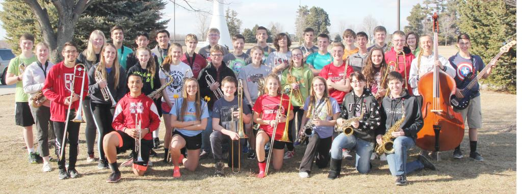 The Harlan Community jazz program made history this year sending two bands to the Iowa Jazz Championships.  The Jazz Experience brought home the state title.