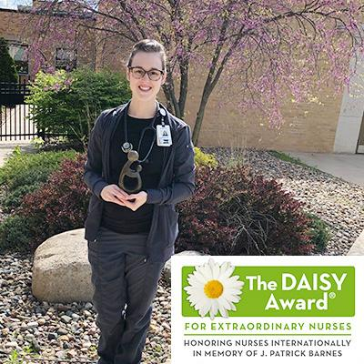 Macie Ferguson has been recognized with The Daisy Award for outstanding healthcare service.  (Photo contributed)