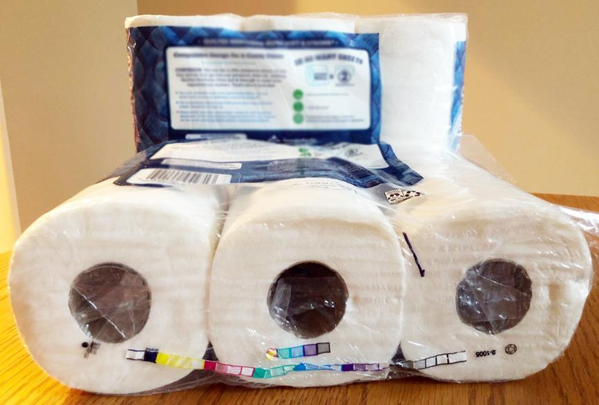 Harlan officials say toilet paper only material to flush down the toilet.