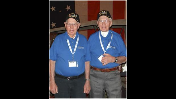 Verl Arentson and Gene Arentson