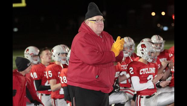 HCHS head coach Curt Bladt hopes to lead the Cyclones to their 27th state semifinals appearance in 36 all-time trips to the playoffs when they host Sergeant Bluff-Luton on Friday night at Merrill Field.