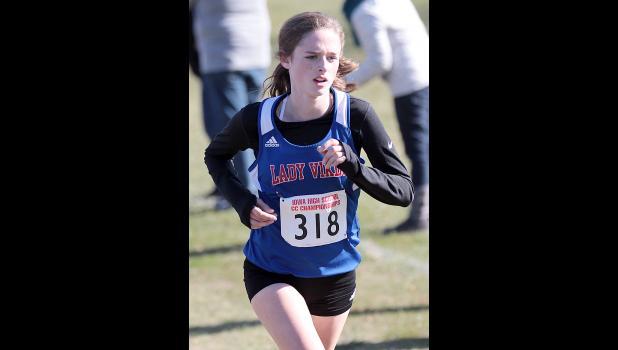 AHSTW freshman Chloe Falkena placed 35th at state.