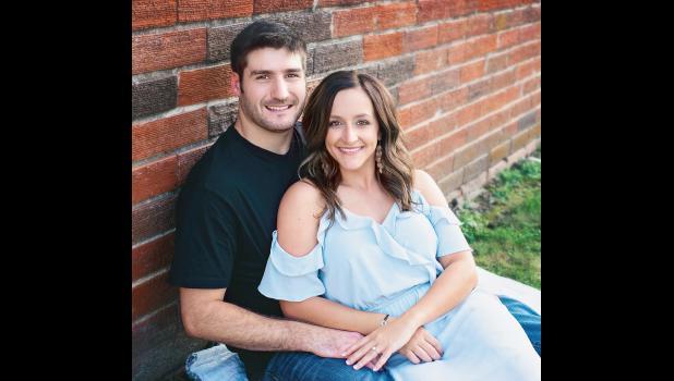 Quinn Wilson and Brooke Schaben