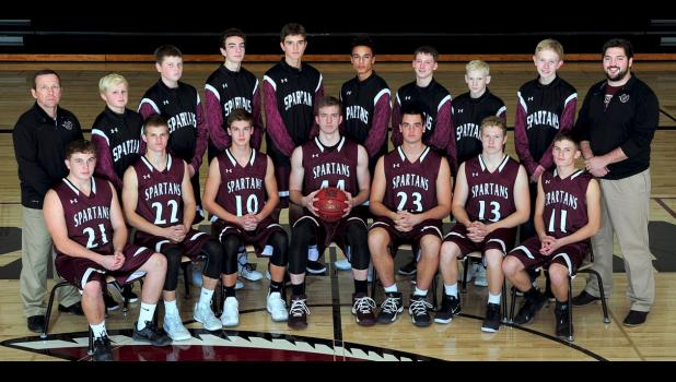 2017-2018 Exira-EHK Boys Basketball Team (Varsity)