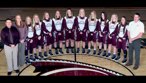 2017-2018 Exira-EHK Girls Basketball Team (Varsity)