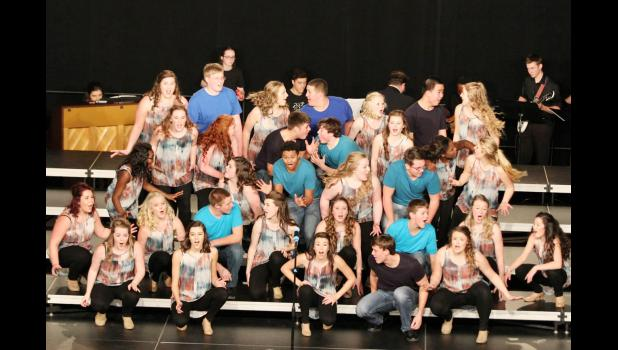 Members of Breaking Cylence singers, band and crew.