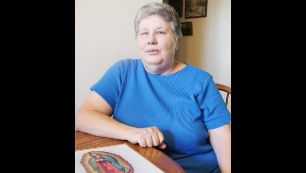 Maribeth Zimmerman's life has been centered on her faith in Catholicism.