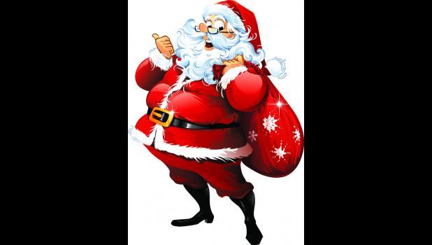Santa in the Cabins