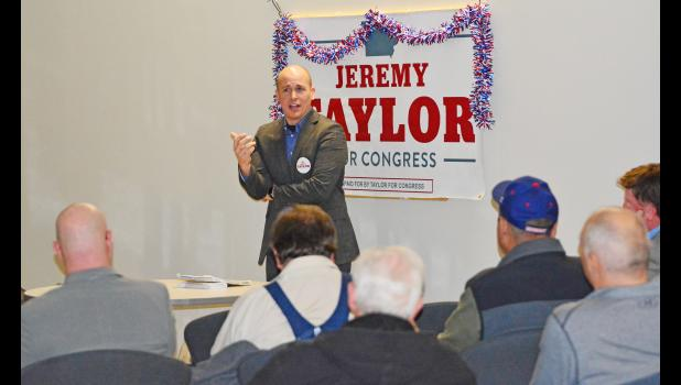 Jeremy Taylor, republican candidate for the District 4 U.S. Representatives
