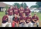 Members of the winning Council Bluffs Diablos team included, front row, L-R: Brad Young, Andrew Sachs, Devin Young, Connor Gann, Pat Sachs. Back row, L-R: Thomas Beebe, Mike Brownlee, Joey Pogge, Sean Smith. (Photo contributed)