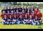 2016 Harlan Community Softball Team (Varsity & JV) Front row, L-R: R. Blum, A. Bruck, L. Schaben, J. Sorfonden, E. Juhl, M. Gubbels, A. Sotelo. Middle row, L-R: M. Kenkel, E. Hilario, A. Nelson, B. Schechinger, S. Davis, H. Manz, M. Allmon, Asst. Coach Jeff Hastert. Back row, L-R: D. Kelly, A. Dominguez, B. Hopkins, K. Gubbels, S. Smith, A. Ahrenholtz, L. Larsen, H. Hopkins, K. Weis, M. Schaben, Head Coach Brooke Schaben. Not pictured: Asst, Coach Jenna Clayton. (Photo courtesy of Jacobs Photographic)