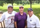 Left-right: Mike Hansen, Mark Zaccone and Joe Zaccone are this year's club champions at the Harlan Golf and Country Club. (Photo contributed)