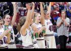 Spartan players and fans are fired up following Monday's state tournament win over Sidney.  See Friday's Harlan News-Advertiser for full details.