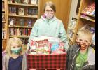 Winners of the virtual Gingerbread Contest held in December were Laila, Lillian and Declan Niklasen, children of Dain and LaJissa Niklasen of Kimballton.