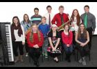 Members of Faith Sound for 2017 include: front, l-r: Charlotte Lotenschtein, Katelyn Kluver, Emma Herzberg, Emily Taggs, Chloe Brouillard. Middle, Emma Schechinger, David Kluver. Back, Camron Buck, Samuel Andersen, Gabe Madson, Caitlin Bissen, Nick Andersen. Not pictured are Emily Ask and Kaleb Ask.