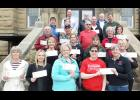 Nonprofit representatives received grant awards. See the May 9 Harlan Tribune for more information.