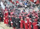Highlights of the event included performances by the HCHS Band and HCHS Choir, recognition of students and the awarding of diplomas in front of a large crowd in the HCHS gymnasium.