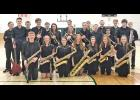 The IKM-Manning Jazz Band includes front L to R -- Liam Carter, Jessica Christensen, Miranda Lingle, Abby Lingle, Hanna Mullen, Carlee Neil and Katy Wooster.  Second row L to R -- Carter Sorensen, Joey Greazel, McKenna Mullen, Brianna Sander, Emma Deets, Timothy Conner, Madde Zeman and John Fisher.  Back L to R -- Eli Guzman, Quentin Dreyer, Dylan Spies, Andan Spooner, Nathan Blankman, Conner Richards, Austyn Sweeney and Tanner Spelstra.